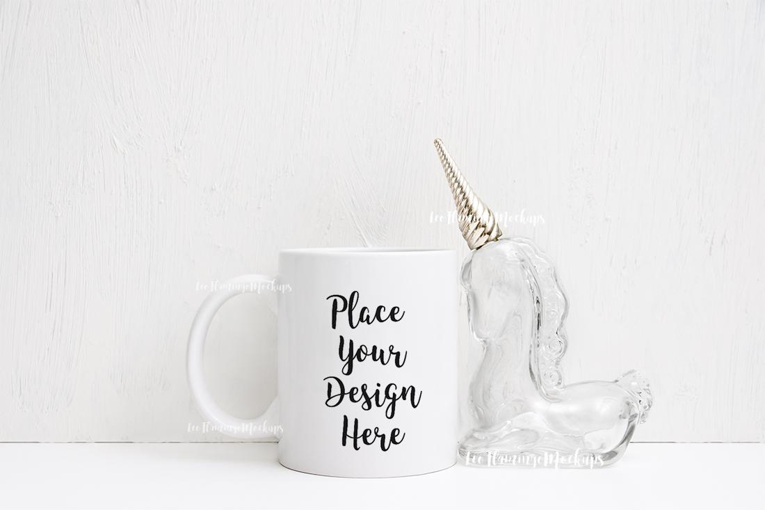 White coffee 11oz rustic mug mockup smart object mugs example image 1