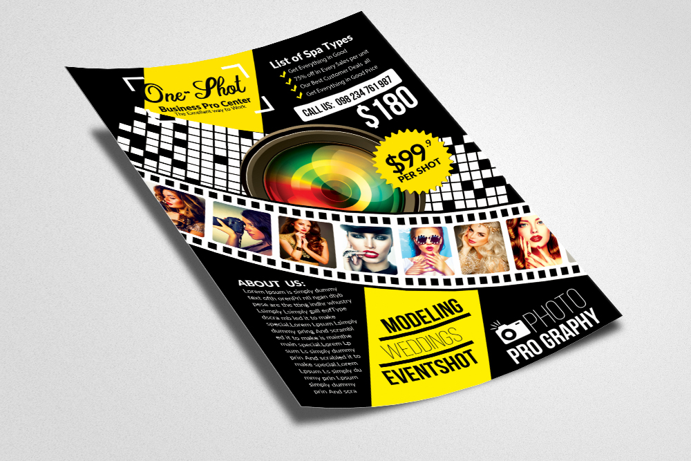 Photography Flyer Template example image 3