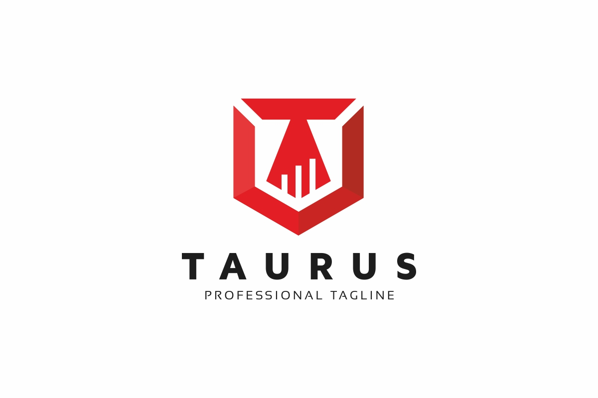 Taurus Law T Letter Logo example image 1