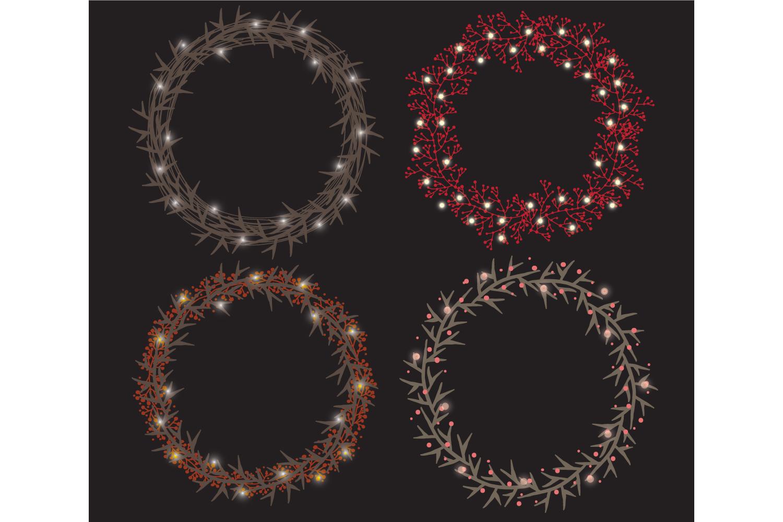Christmas string lights set example image 4