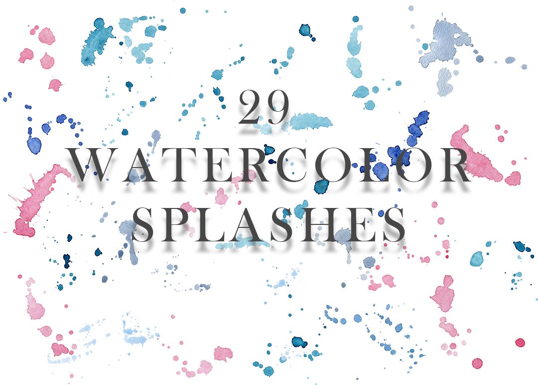 Ocean watercolor collection example image 8