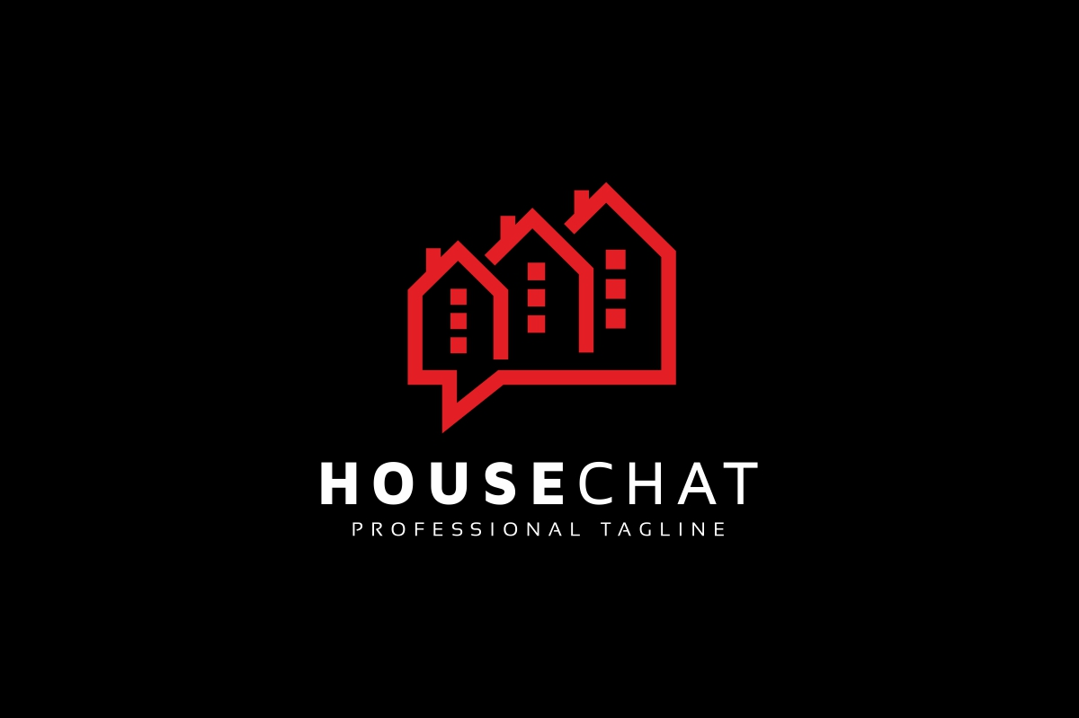 House Chat Logo example image 2