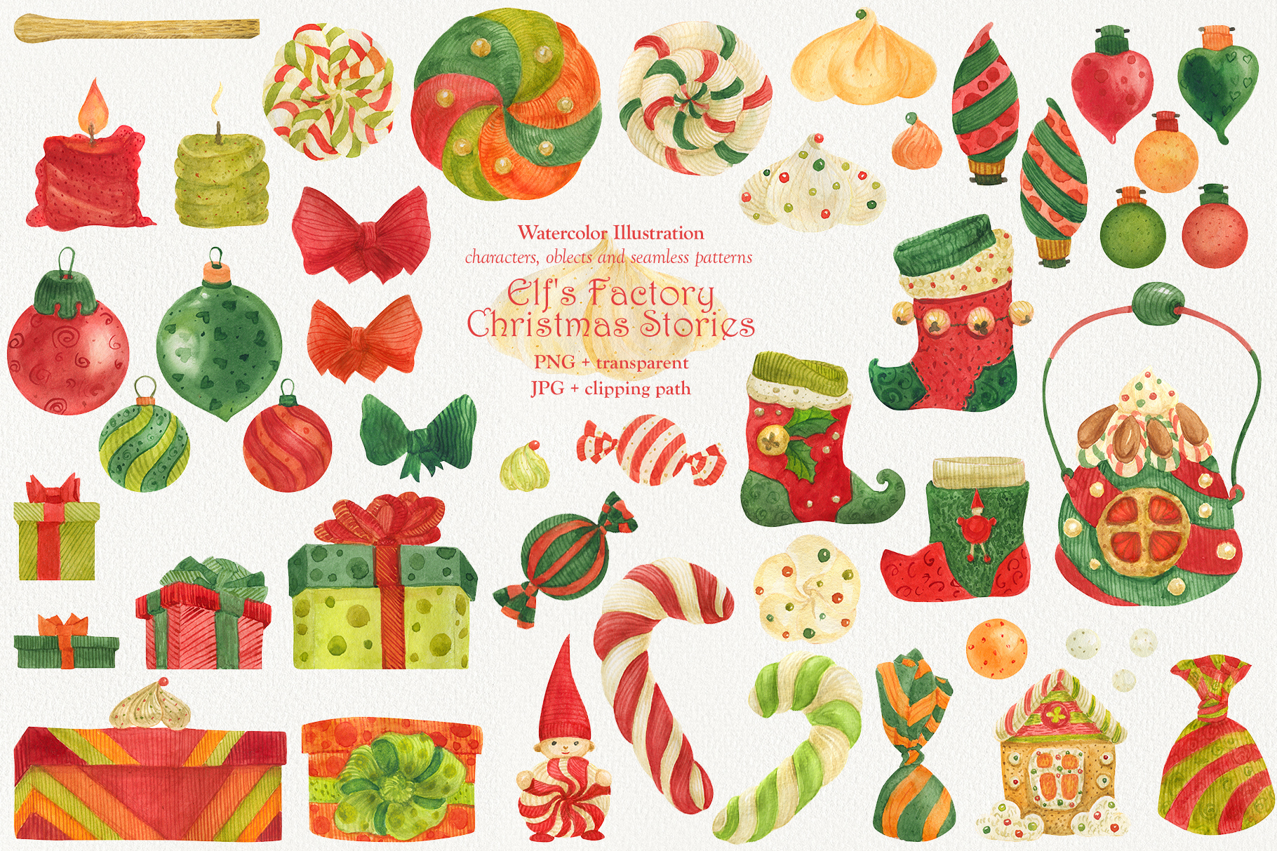Elf's Factory Christmas Stories example image 2