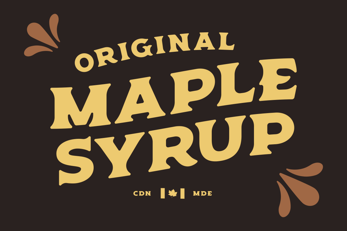 Old Spirits Display Font example image 5