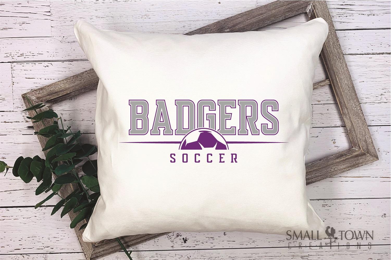 Badger, Badger Soccer Team, Sport, PRINT, CUT & DESIGN example image 3