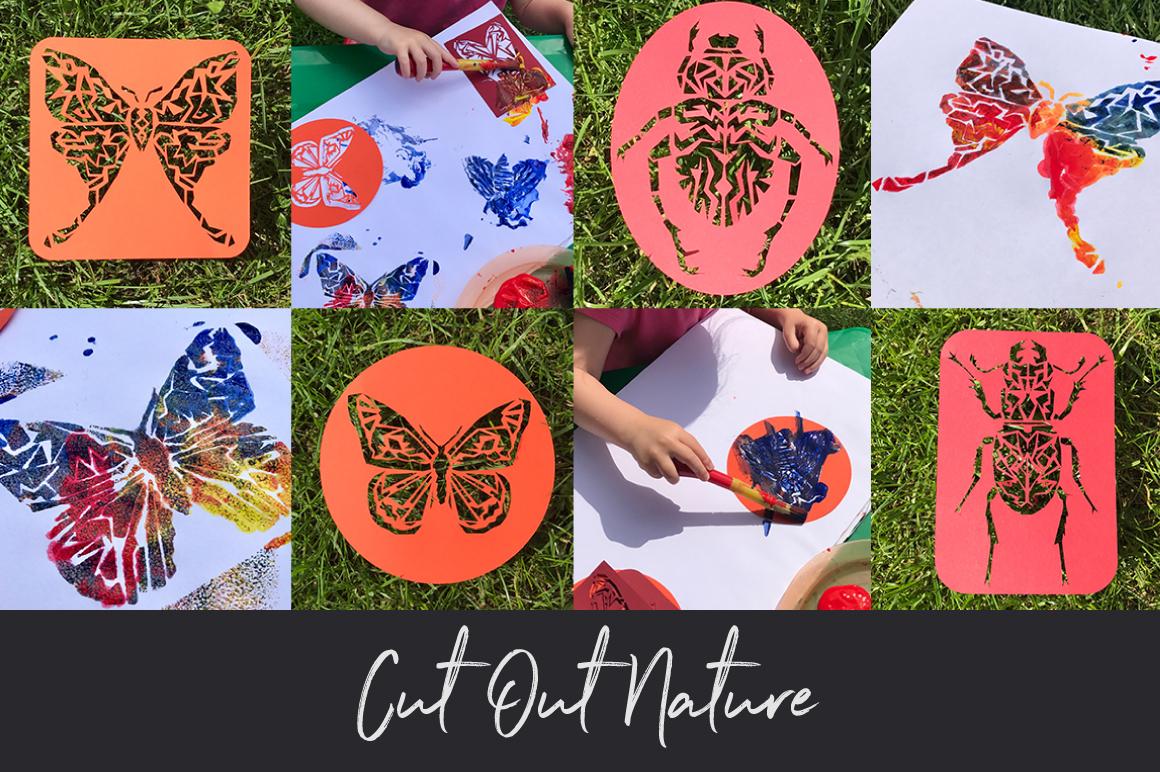 Butterflies and Beetles SVG Bundle example image 6