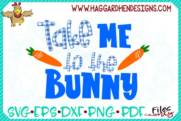 Take me to the Bunny SVG example image 3