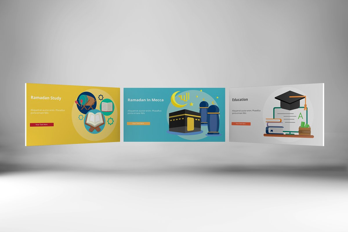 Visual Business Keynote Template example image 9