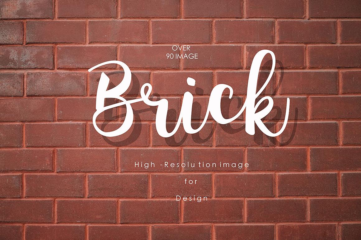 90 Brick texture background  example image 4