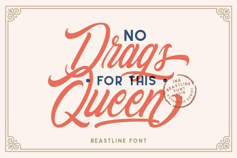 Beastline Script example image 2