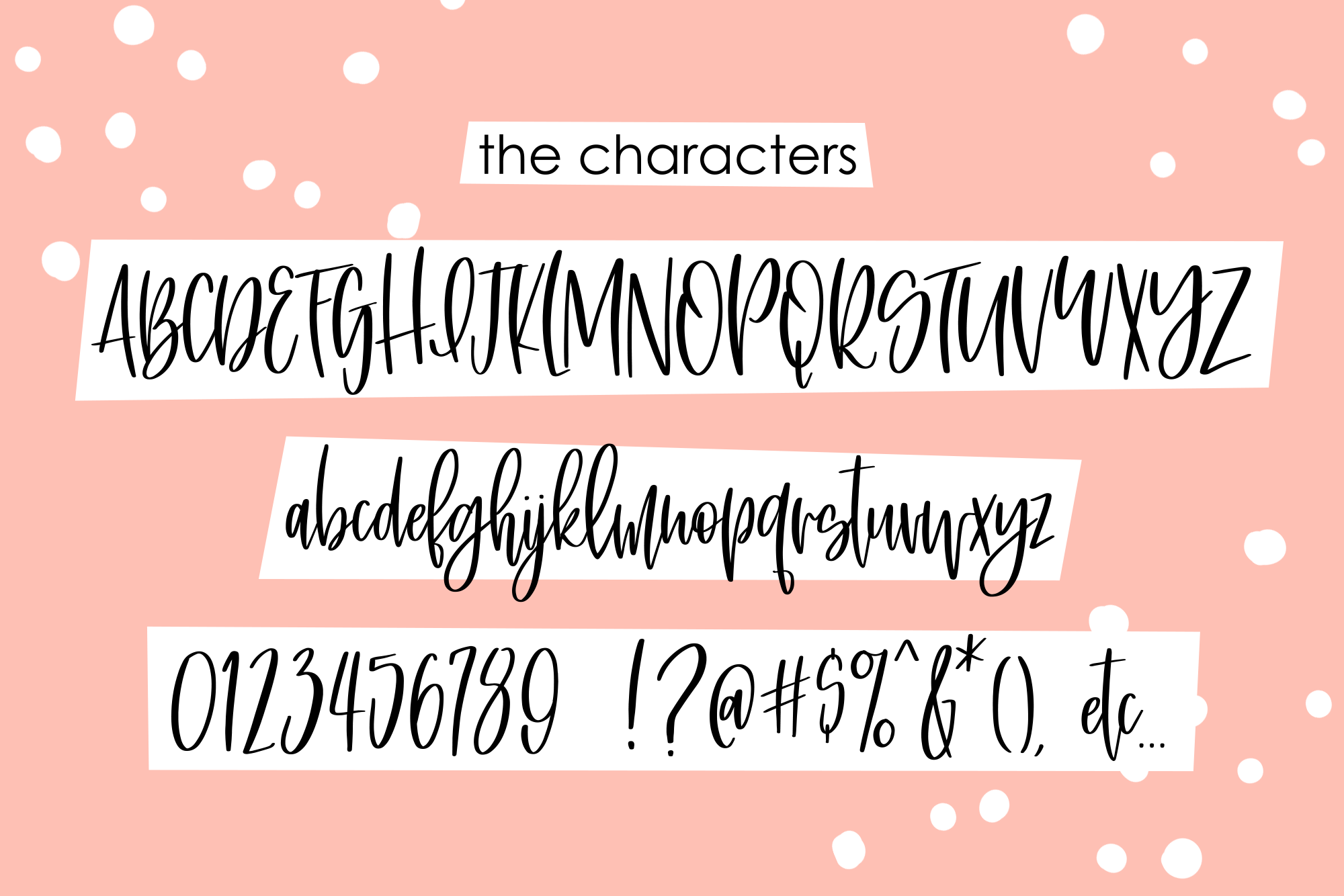 Saturday Brunch, a tight tall script font example image 11