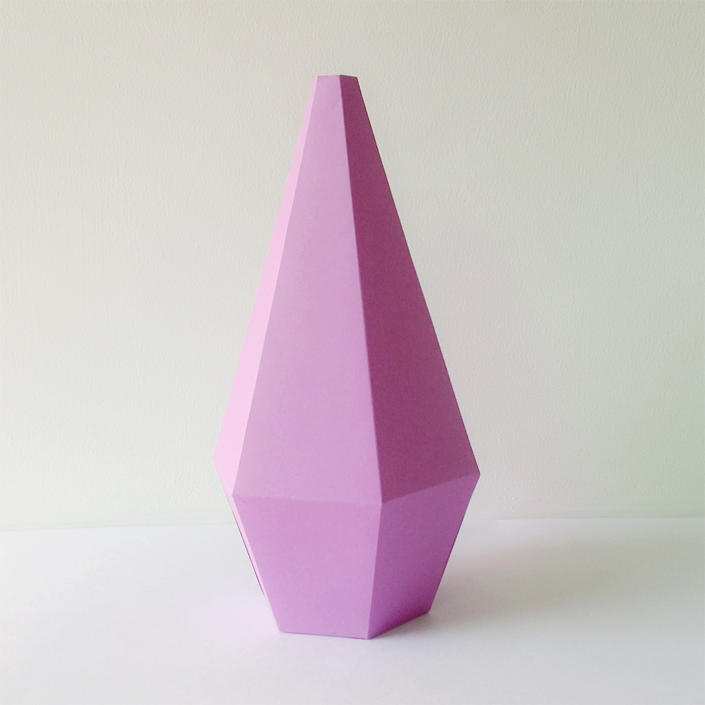 DIY Paper Vases - 3d papercraft example image 2