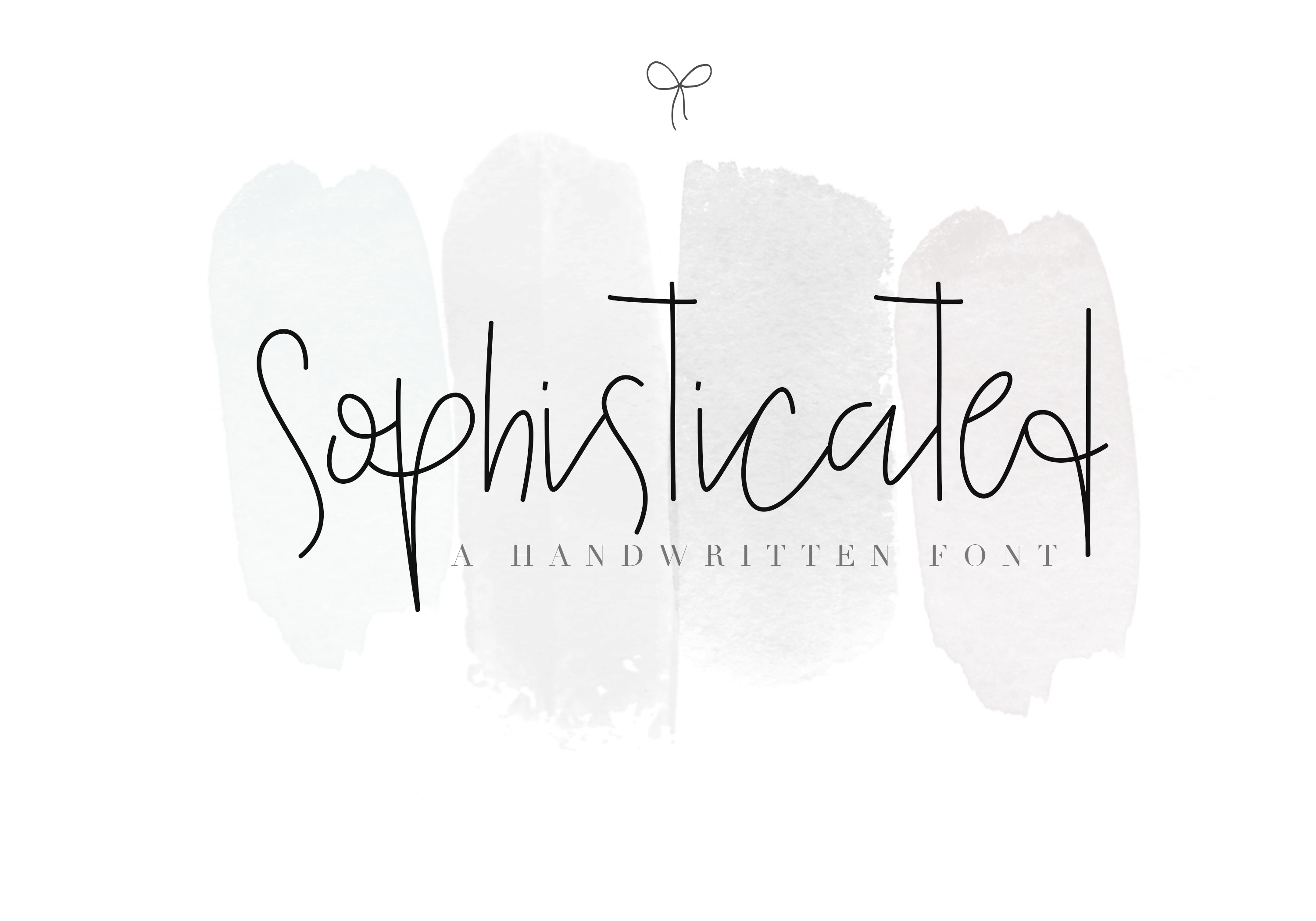 Sophisticated Outfit - A Chic Handwritten Font example image 1