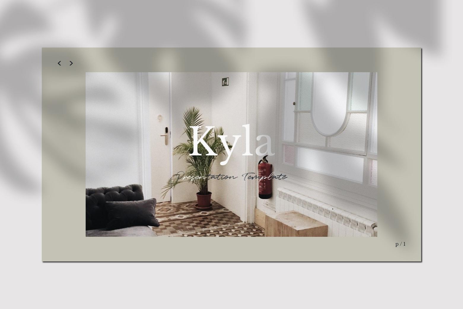 Kyla - Google Slides Template example image 2