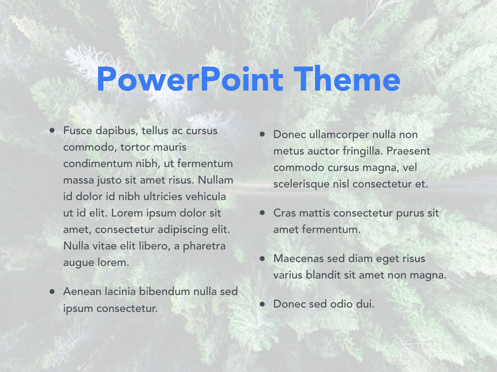 Avid Traveler PowerPoint Template example image 4