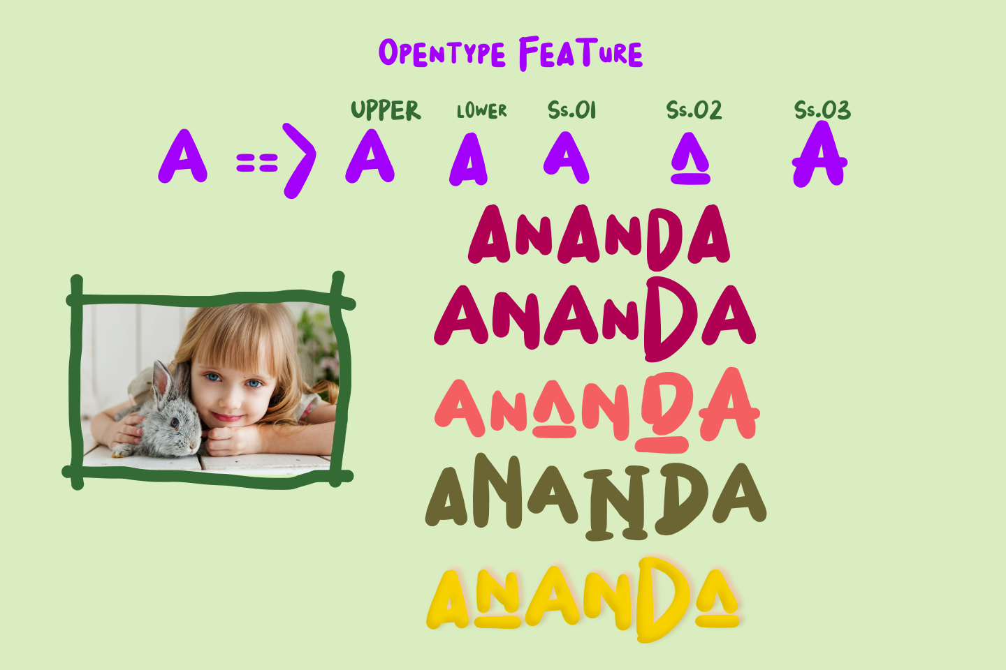 I Luv Mommy Playful font example image 7
