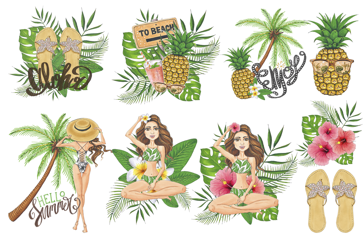 Summer Time Hand-painted Collection example image 5