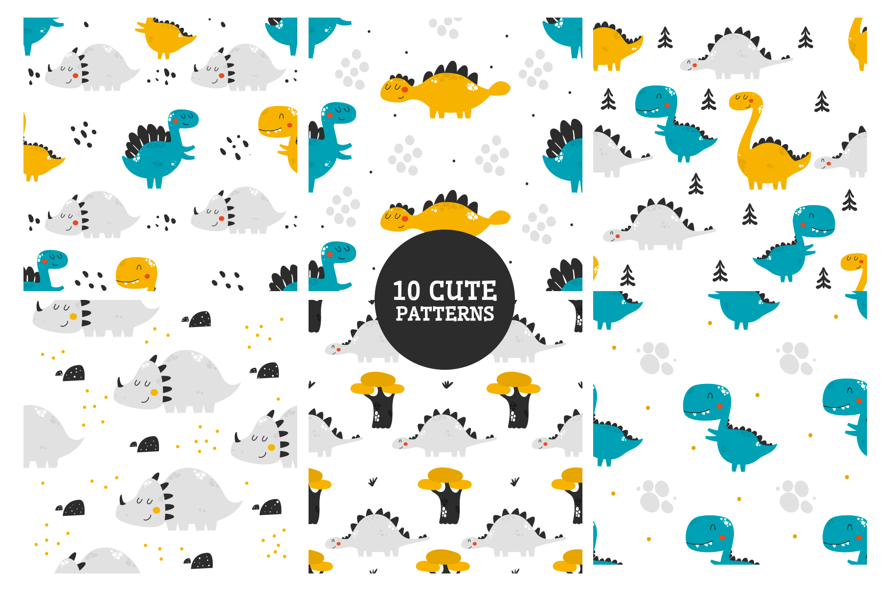 Baby patterns Bundle example image 6