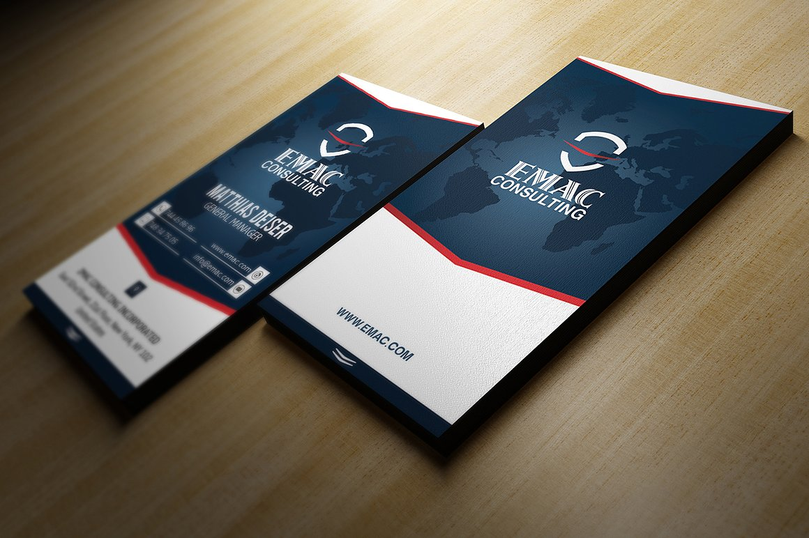 Clean Business Card example image 3