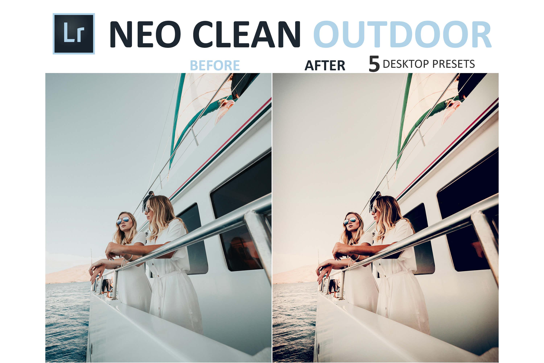 Neo Clean Outdoor Desktop Lightroom Presets example image 6