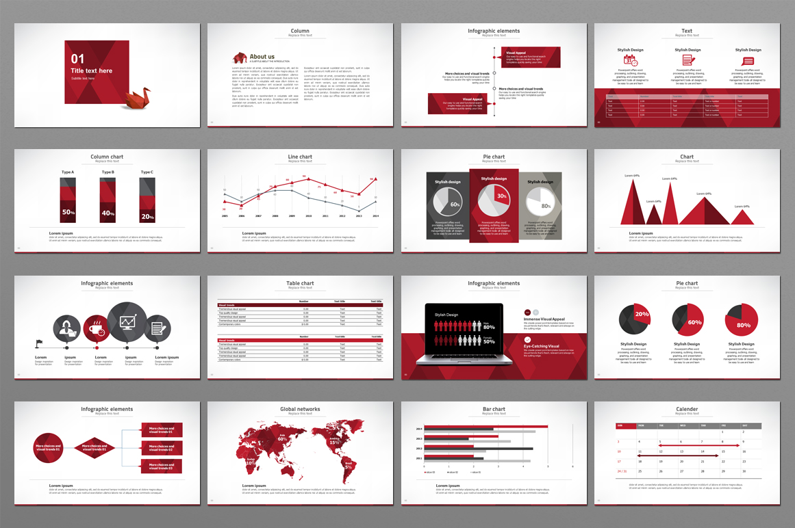 Modern Powerpoint Template example image 3