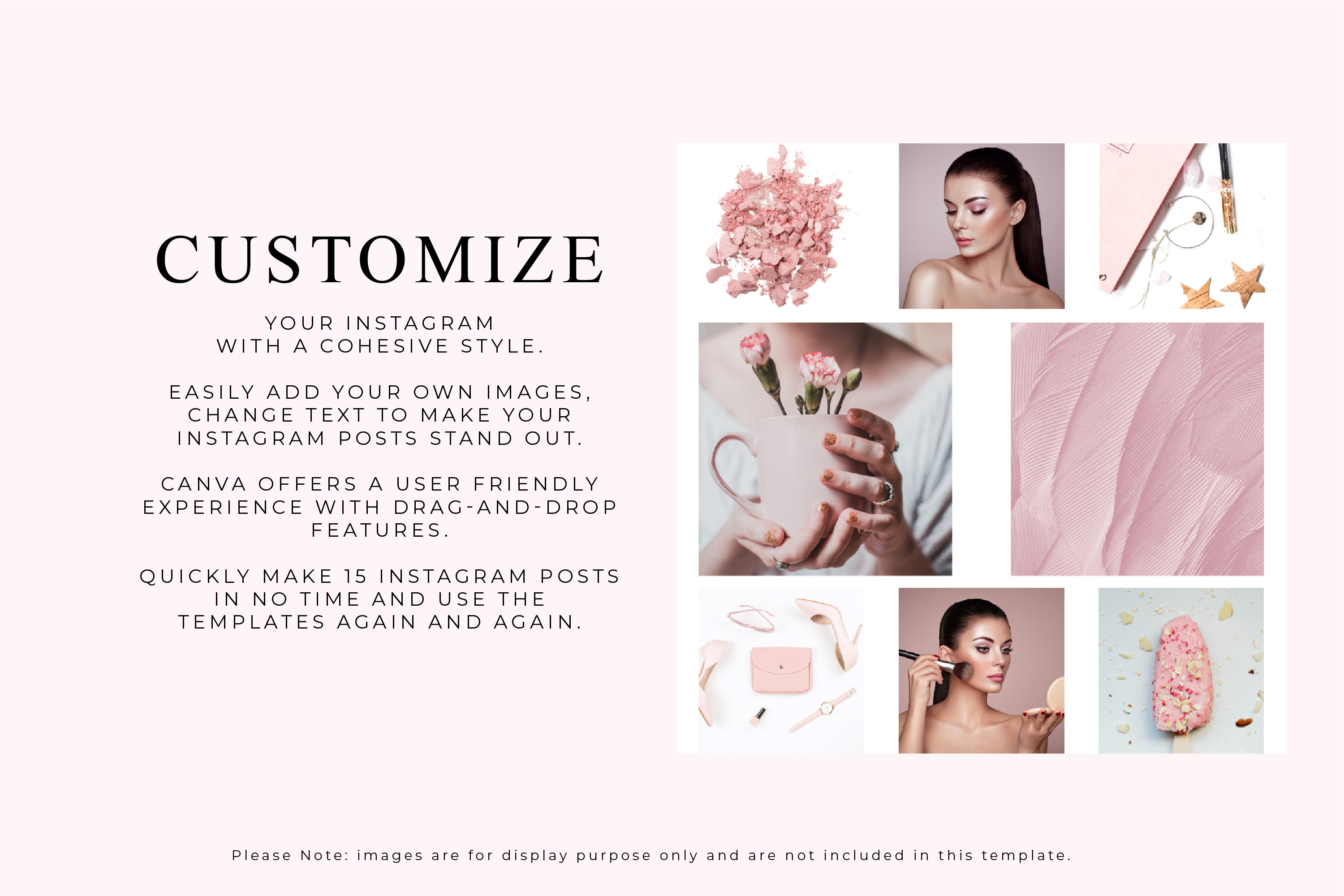 Instagram Posts Canva Template - Myk Rosa example image 3