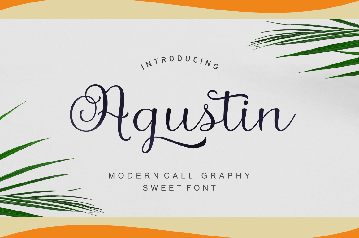 Agustin Script example image 1