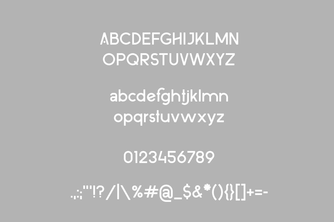 Moncorna Futuristic Sans Serif Font example image 8