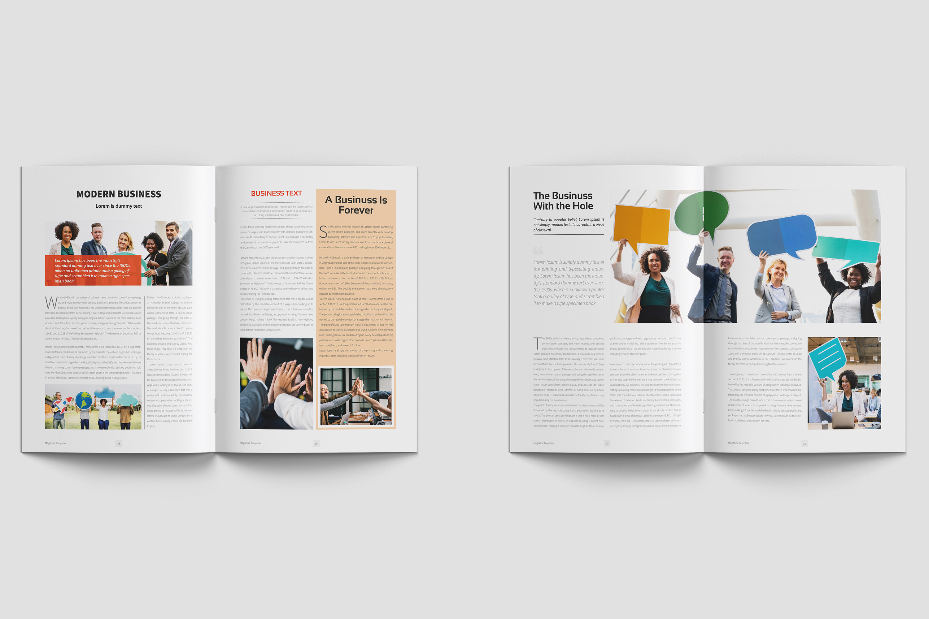 Business Magazine Template example image 9