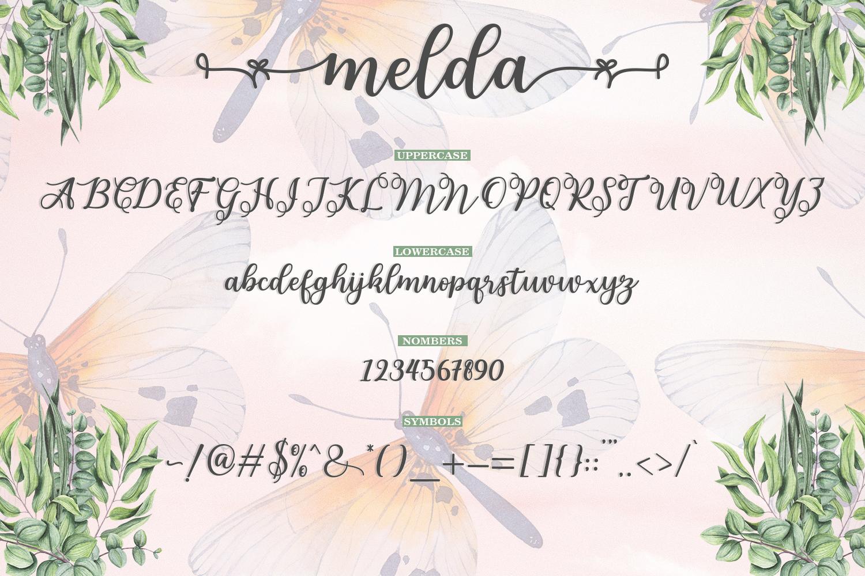 Melda Script | Modern calligraphy example image 13