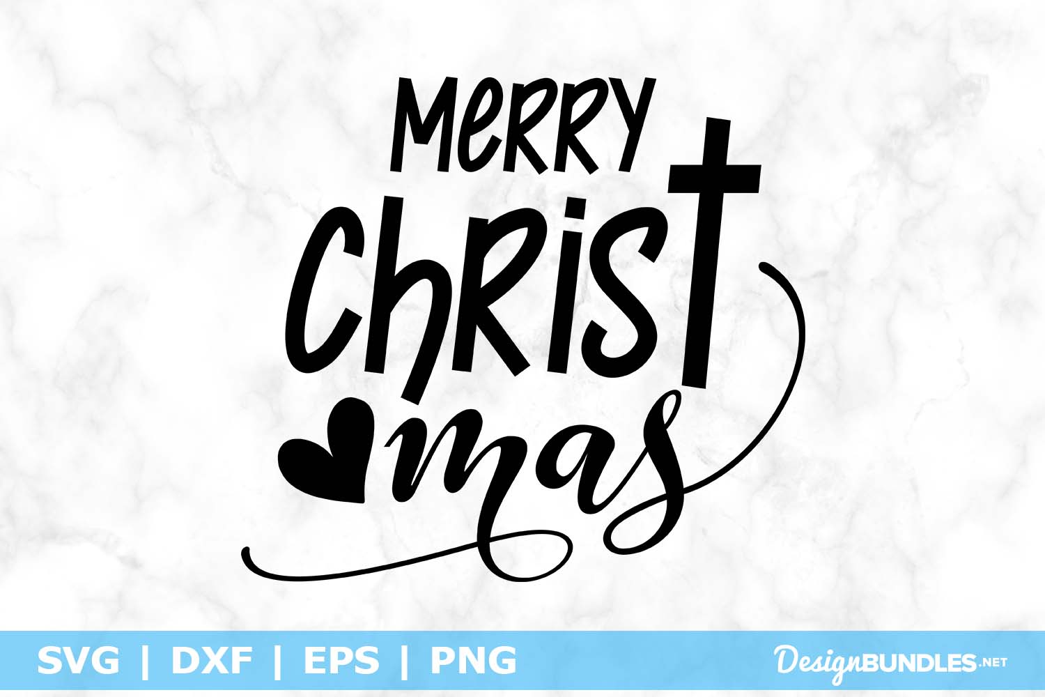 Merry Christ mas SVG File example image 1