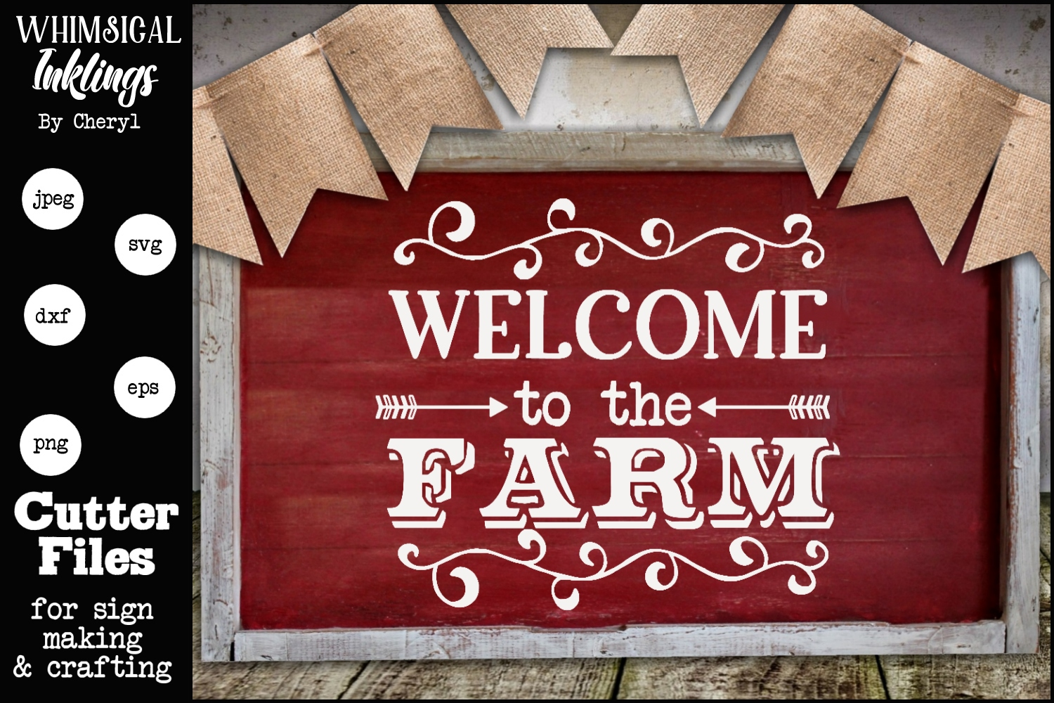 Welcome To The Farm 4 SVG example image 1