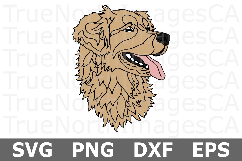Golden Retriever - An Animal SVG Cut File example image 1
