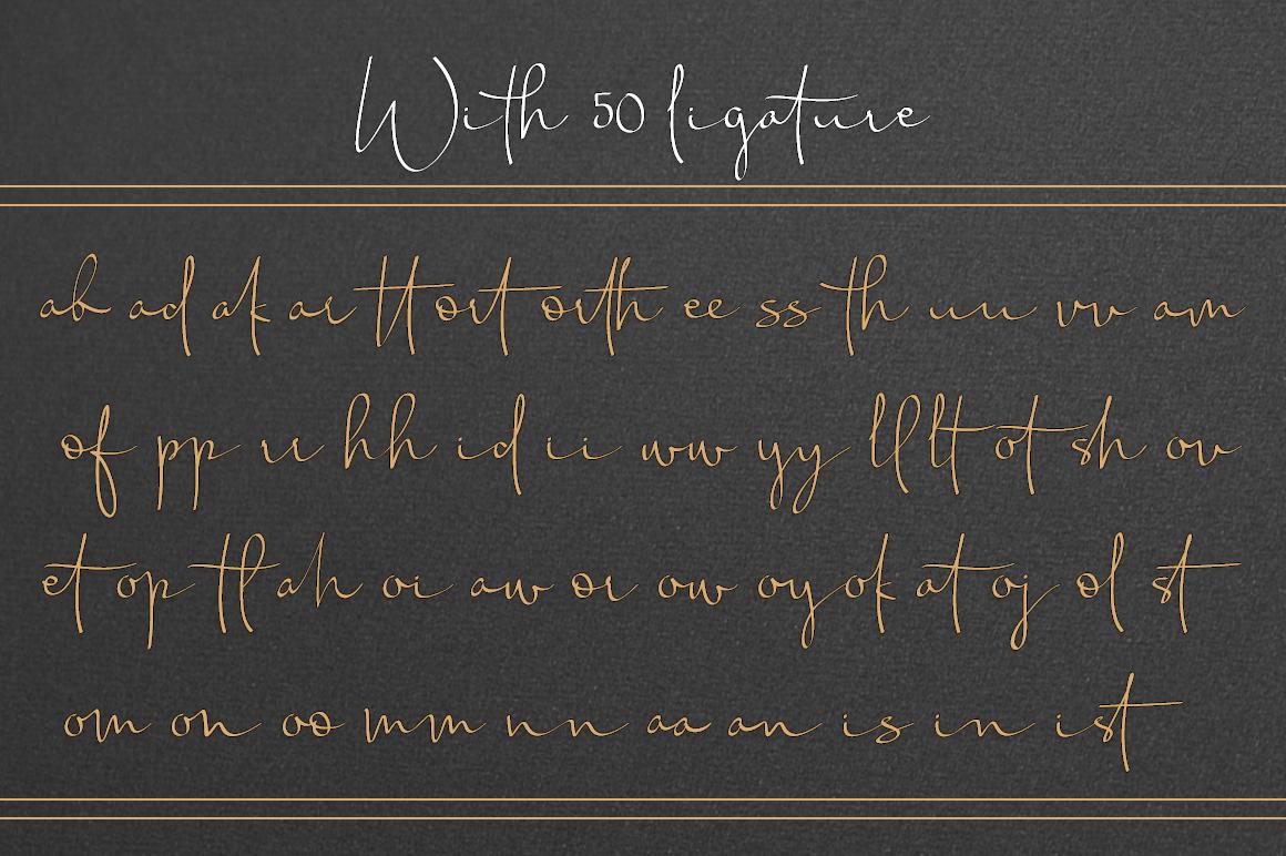 Chandrawinata Signature script example image 6