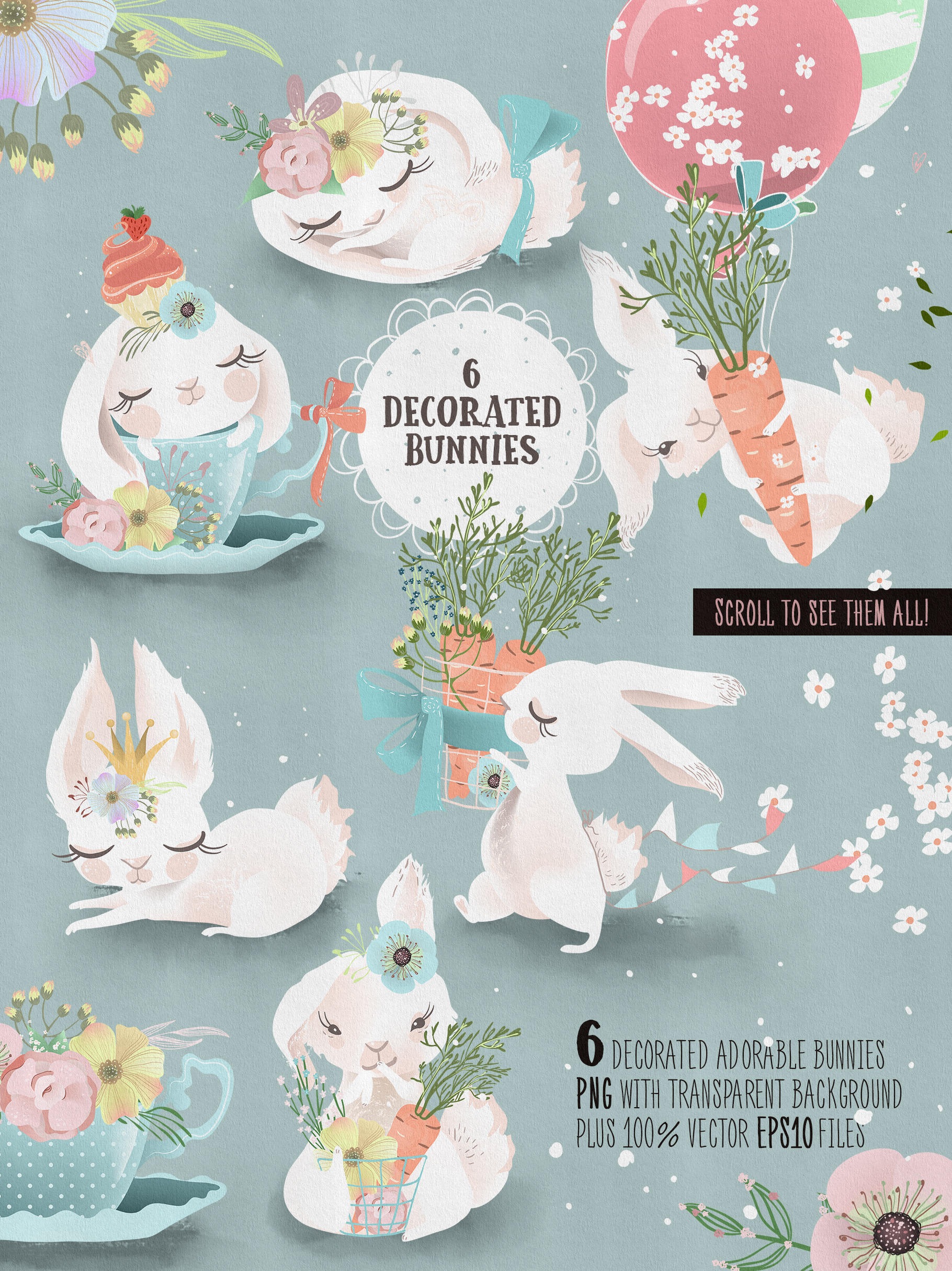 Lovely Bunnies Collection example image 2