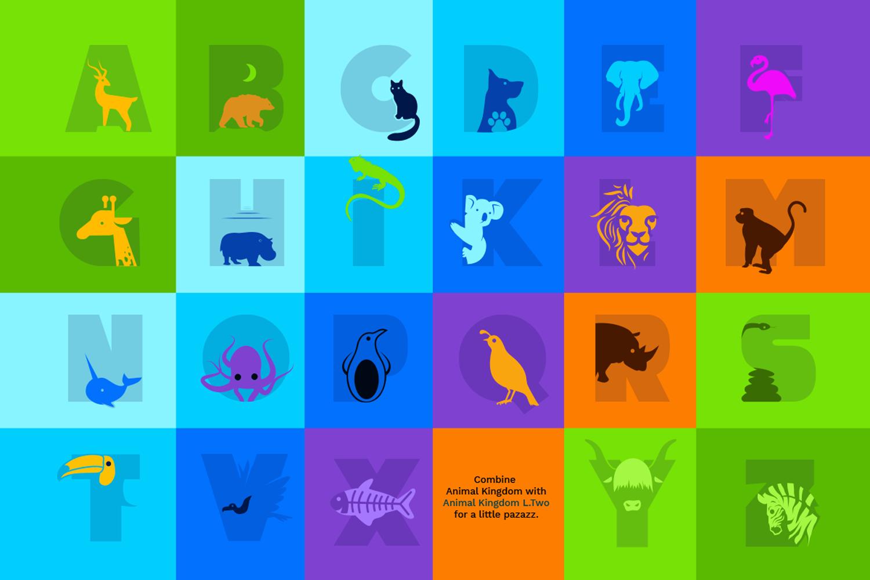 Animal Kingdom Craft Font   Wild Animals Font example image 7