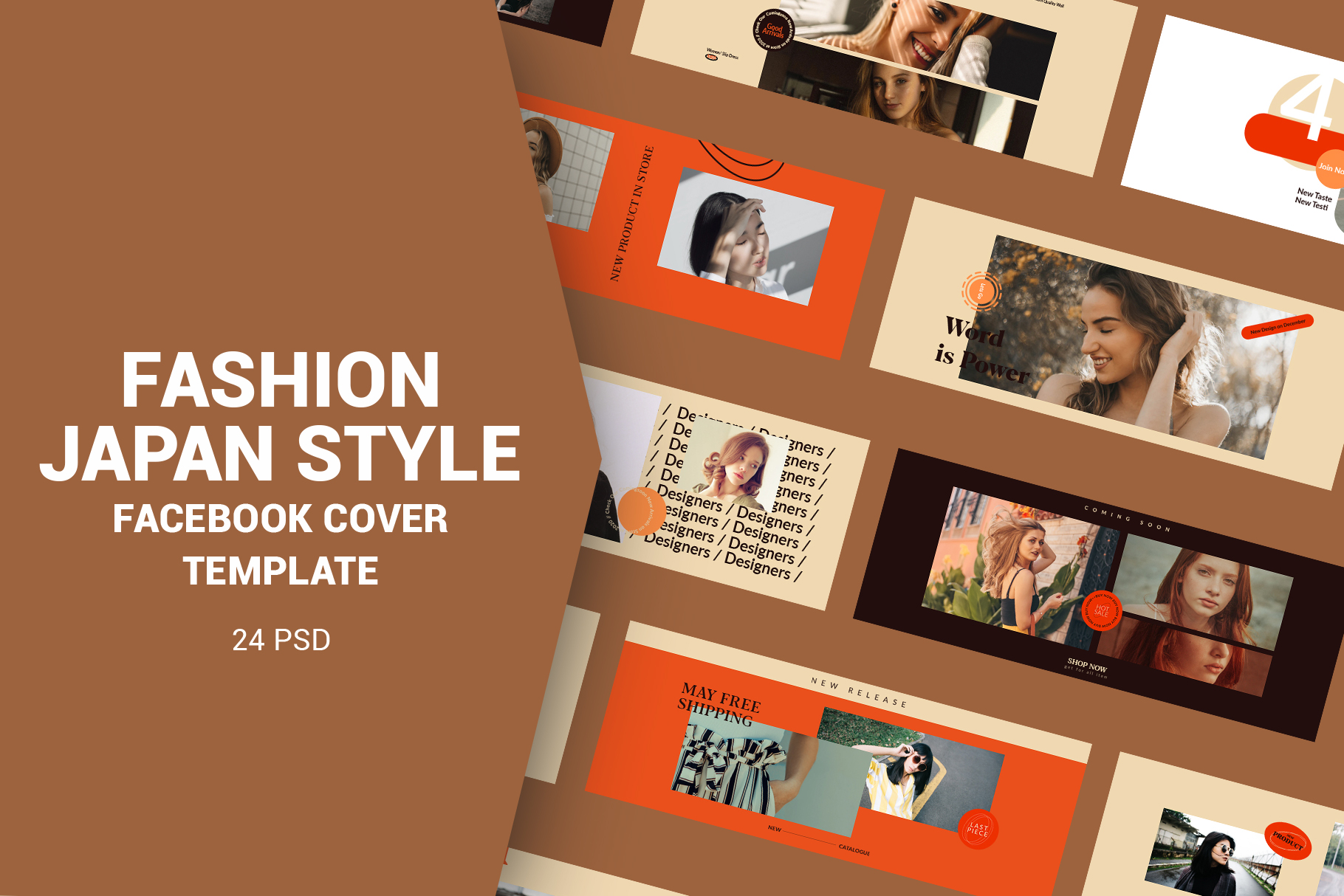 Fashion Japan Style Facebook Cover example image 1