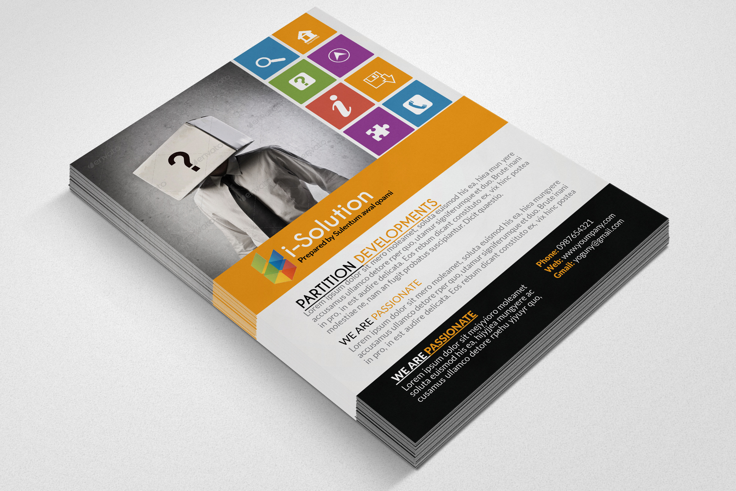 Business Idetification Flyers example image 2