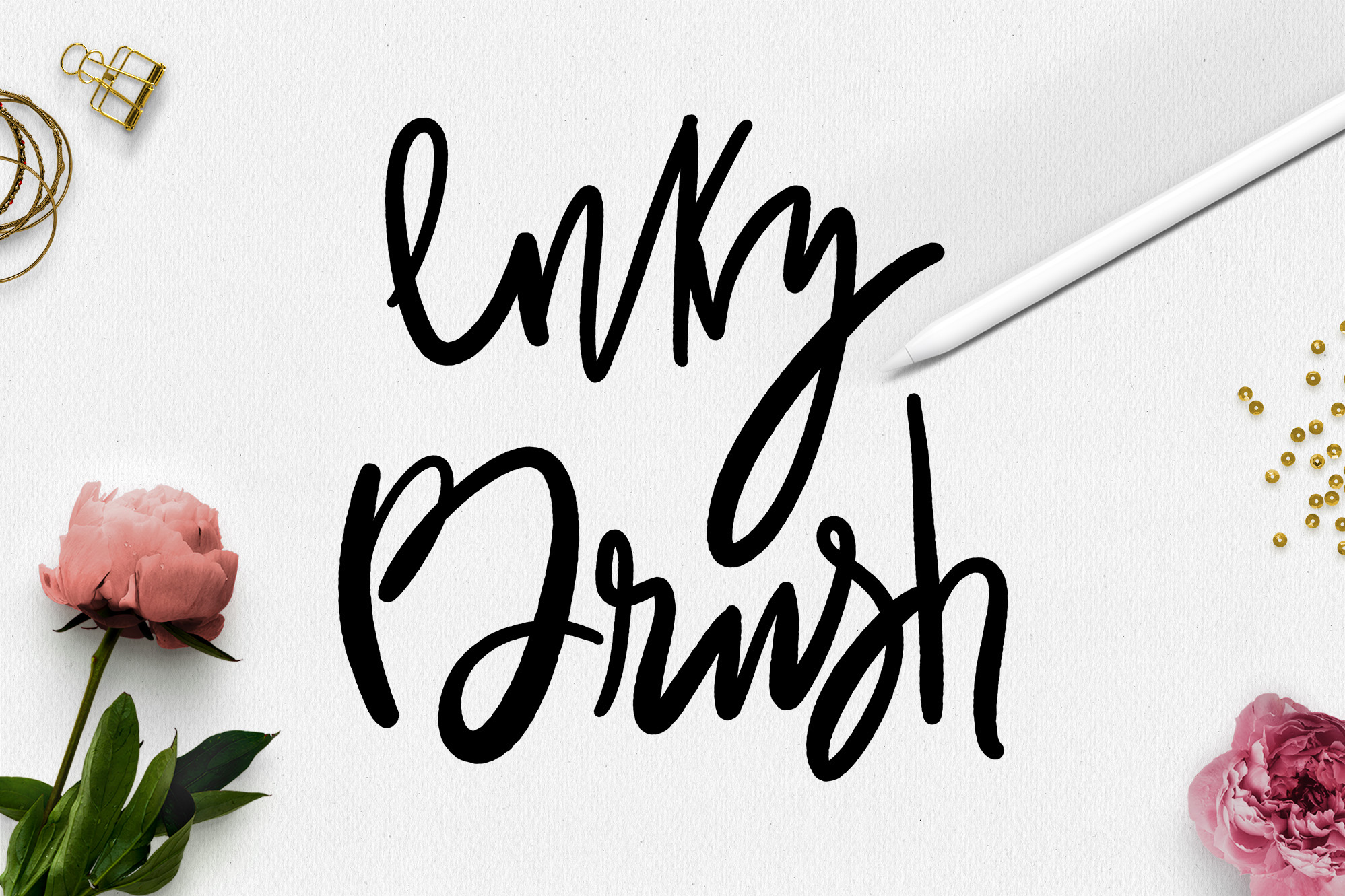 Procreate Lettering Brushes + Bonus example image 10