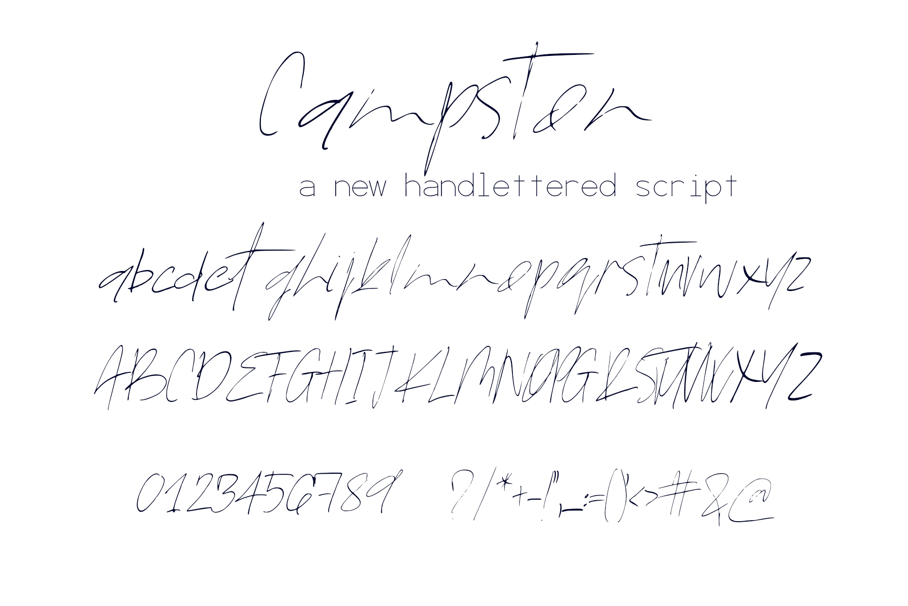 Campston Font example image 8