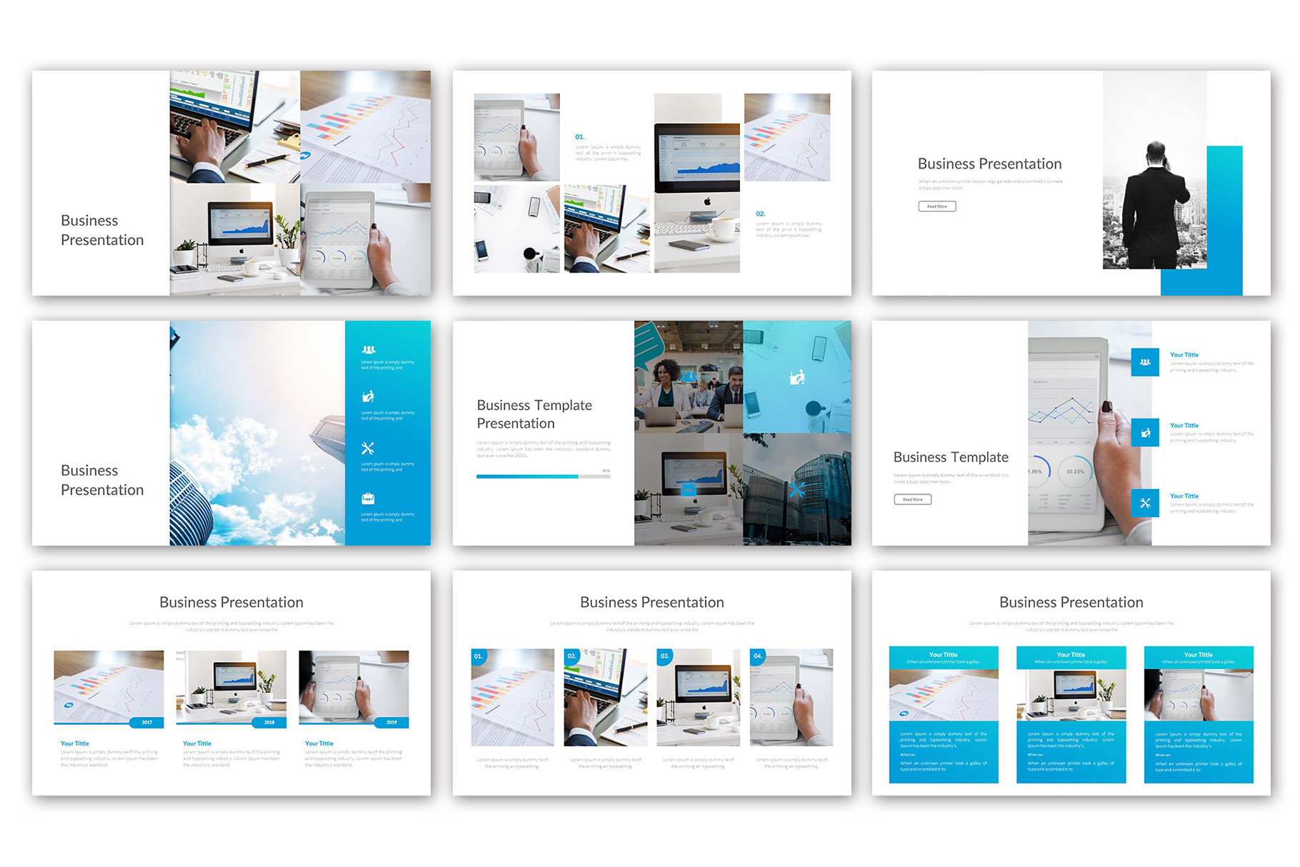Big Business Presentation Template example image 4