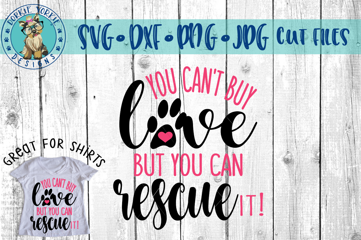 You can't buy love but you can rescue it example image 2