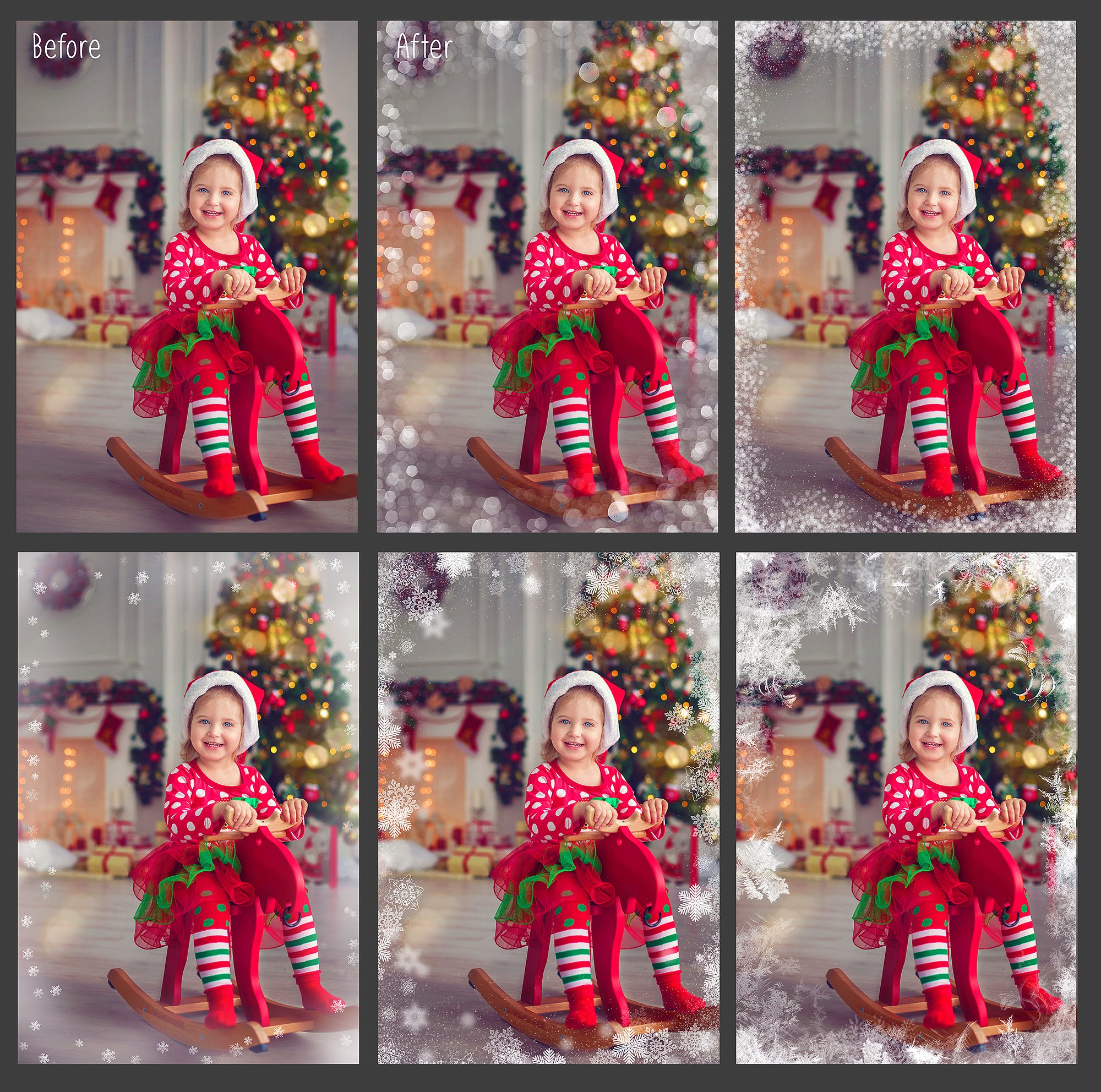 20 Christmas Photo Overlays example image 3