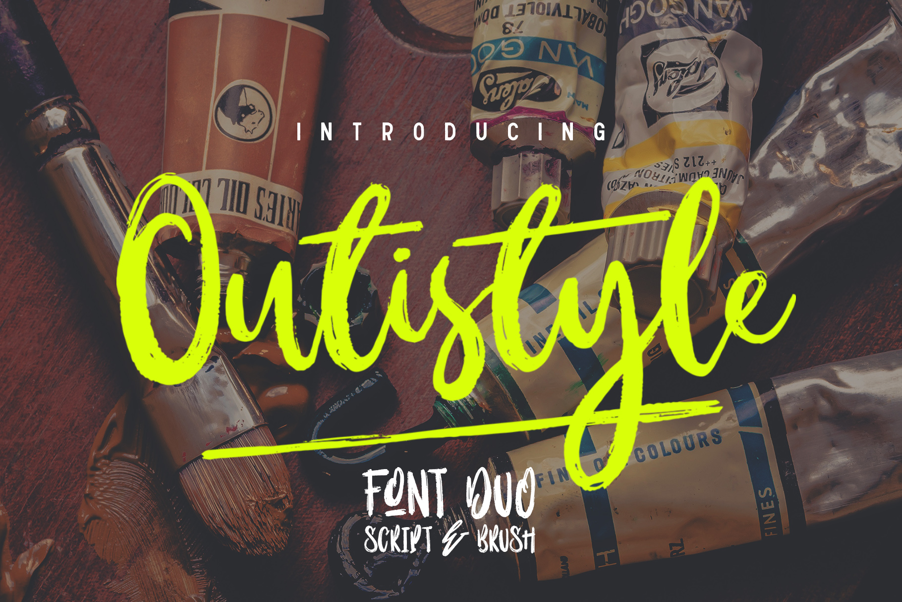 Outistyle Font Duo example image 1