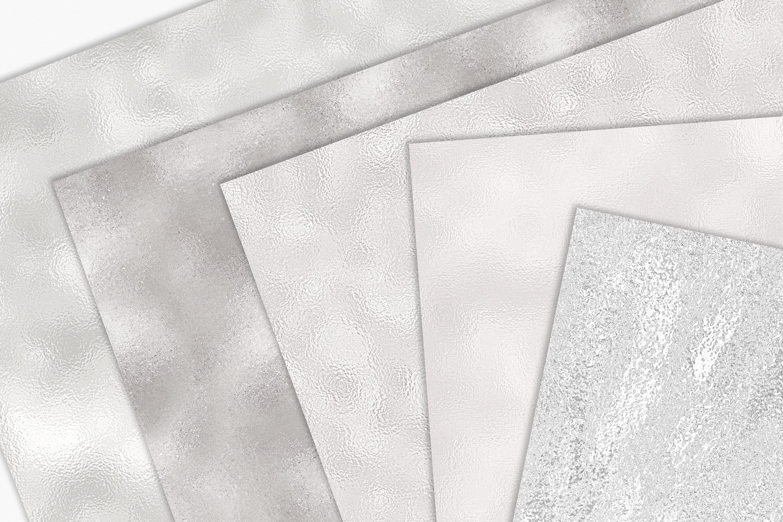 10 Diamond Foil Textures - Seamless Metallic Backgrounds example image 5