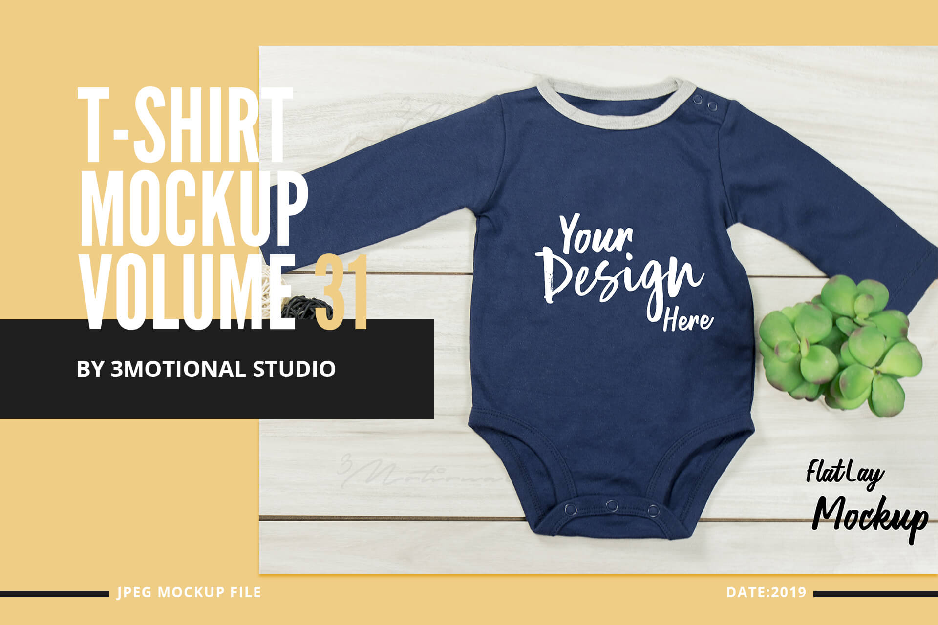 Neo Baby T-Shirt Mockup Volume 31 example image 1