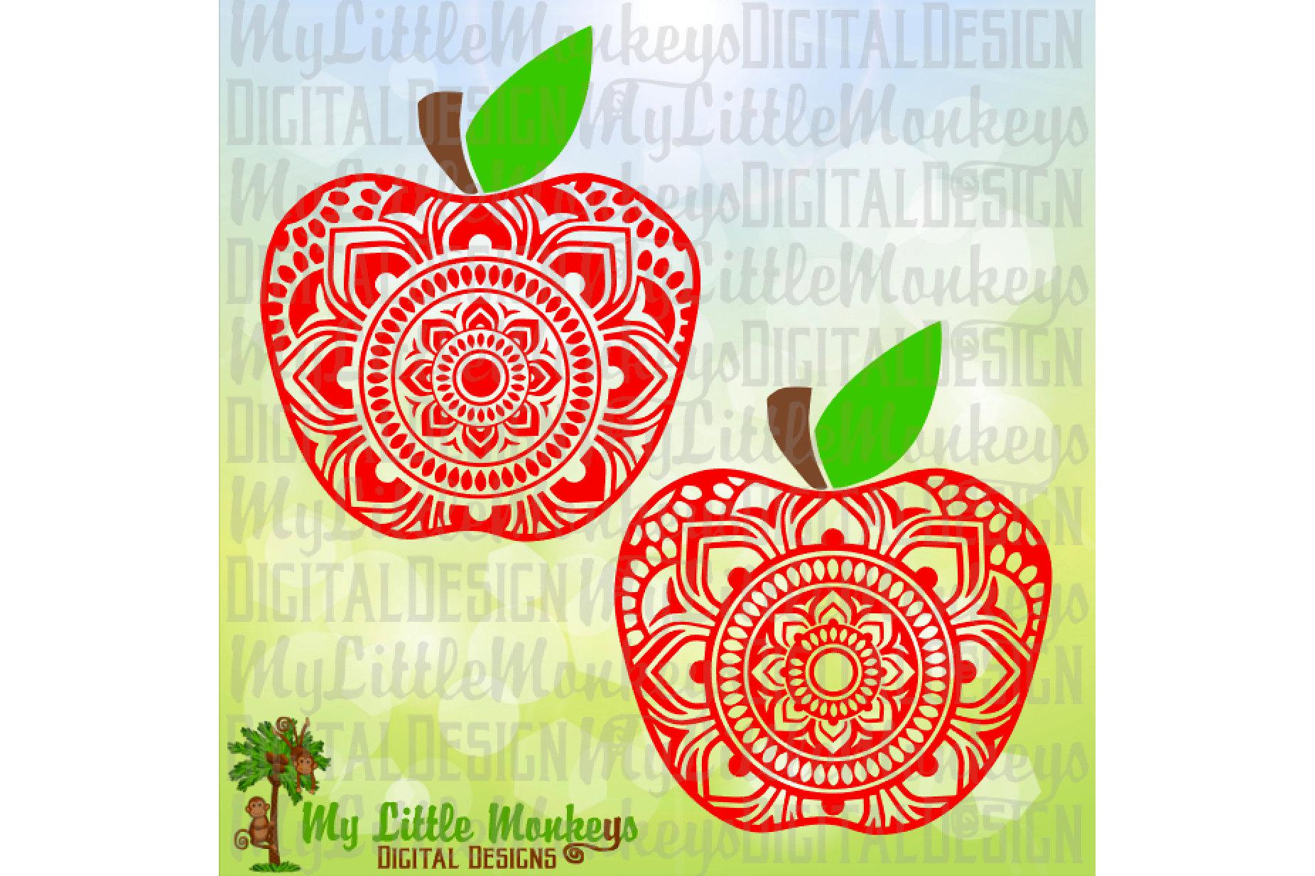 Apple Mandala example image 1