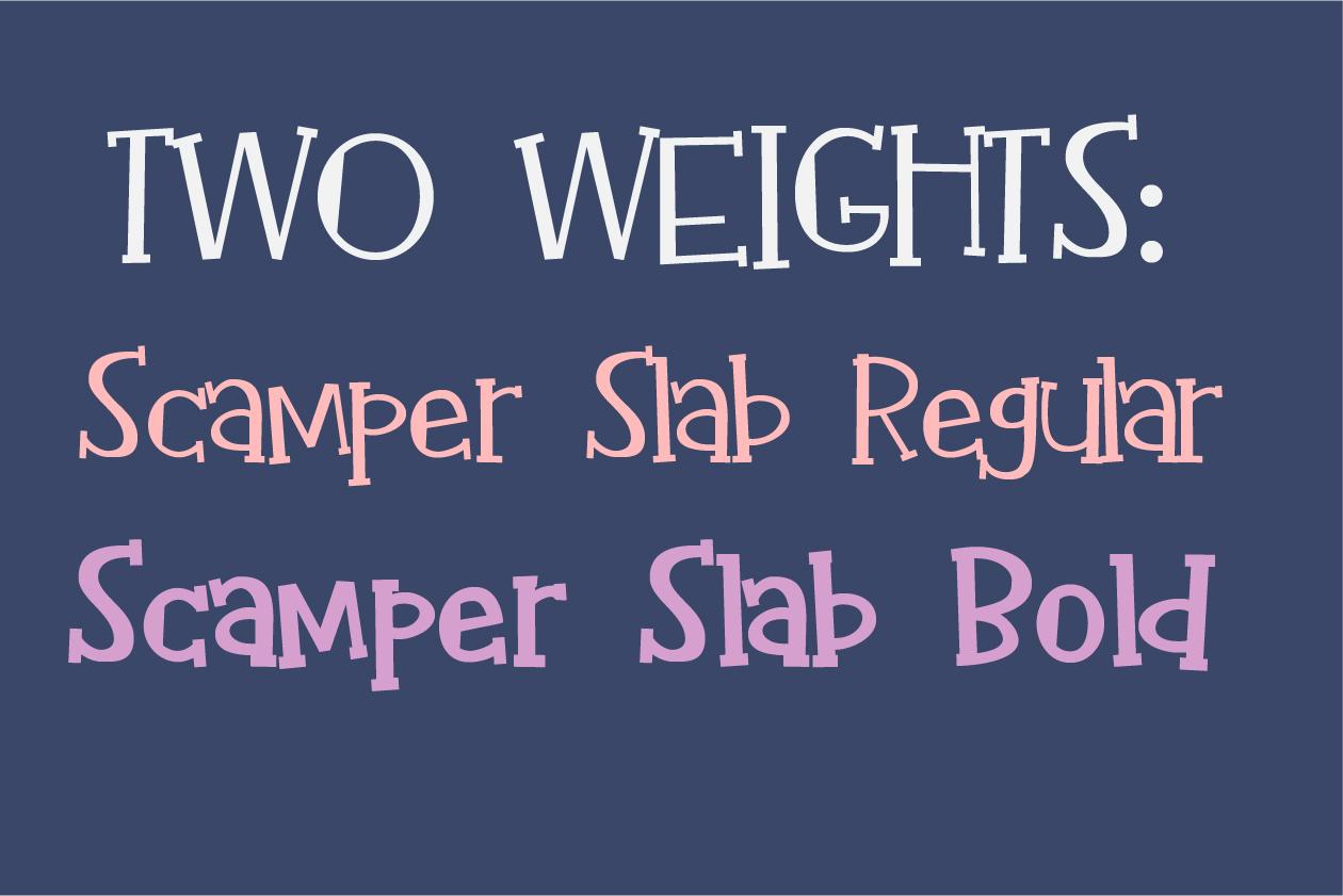 Scamper Slab example image 6