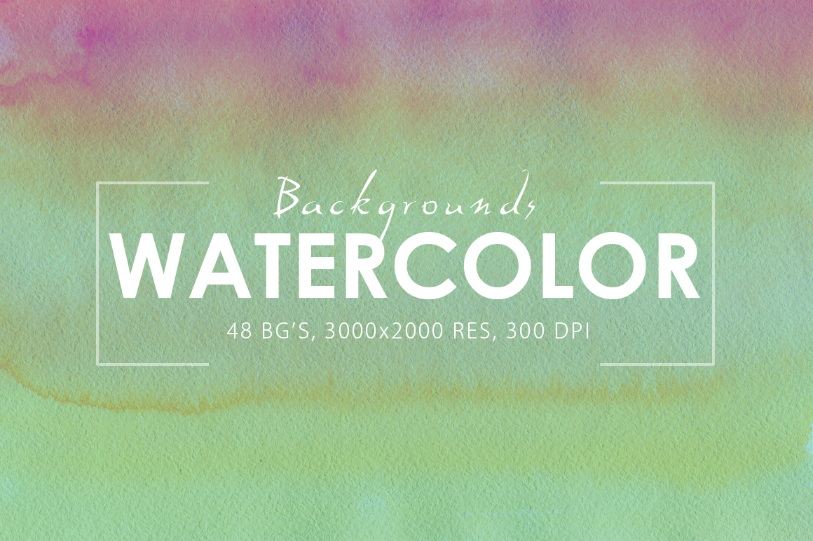 48 Watercolor Backgrounds example image 2