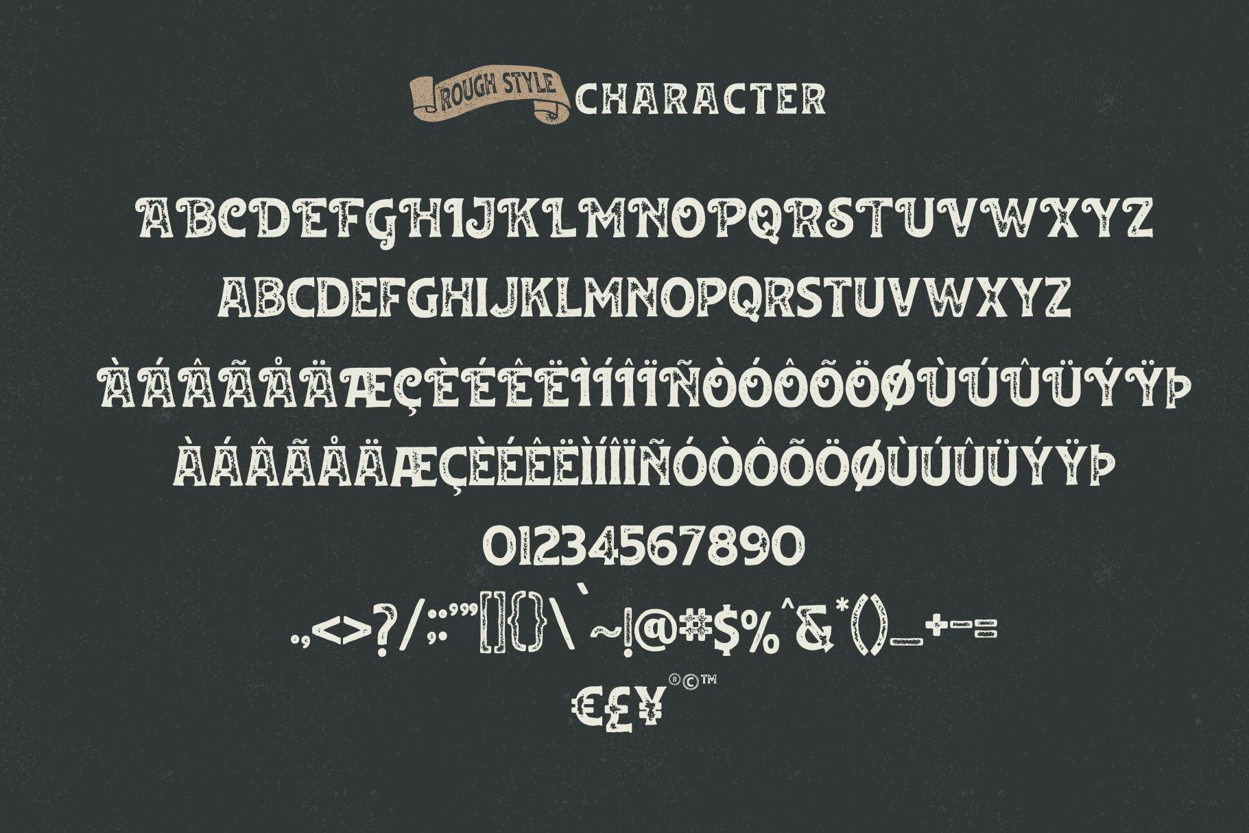 Huvet Typeface example image 5